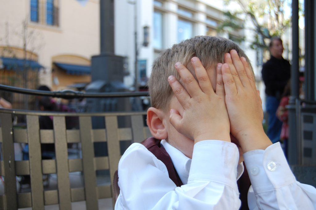 Temper tantrums in toddlers