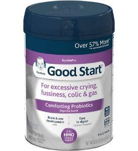 best formula for colic - good start