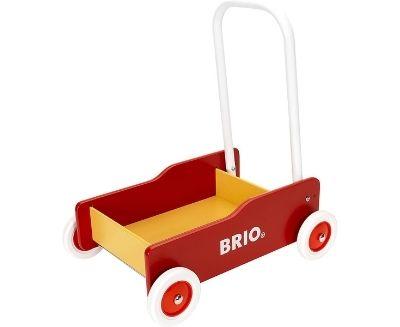 wooden toddler walker